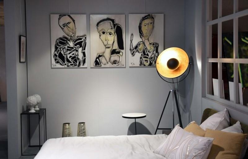 Bedking legt 20 kunstenaars te slapen