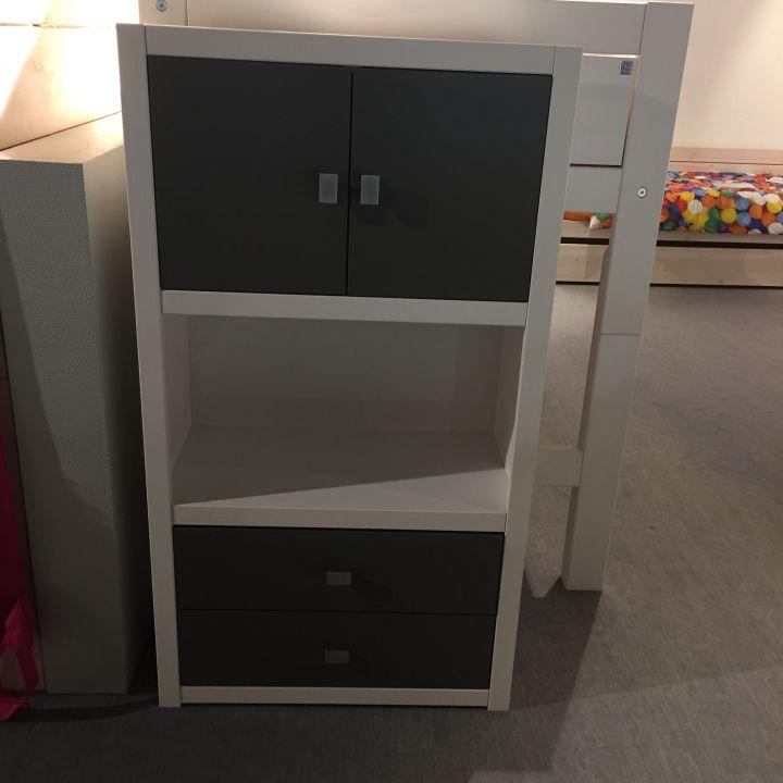 Lifetime Boekenkast met laden en deuren