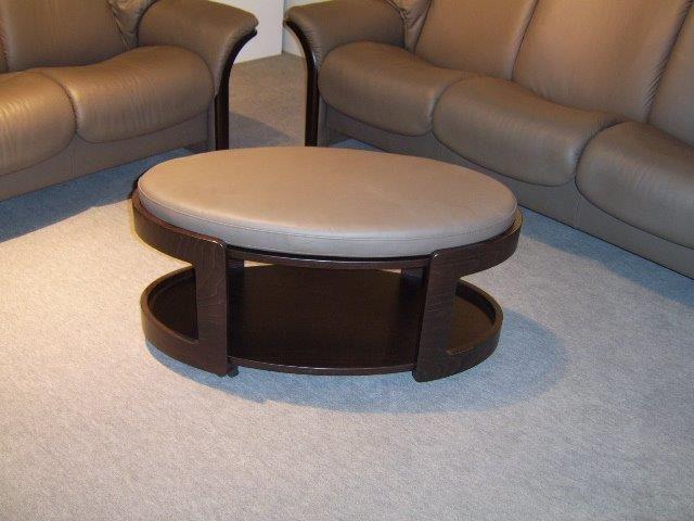Stressless Oval Ottoman poef/salontafel