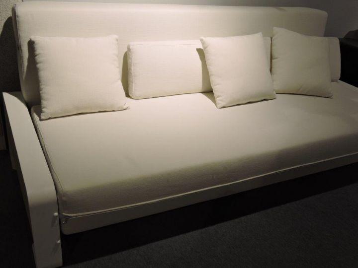 Bedbank wit foto 1